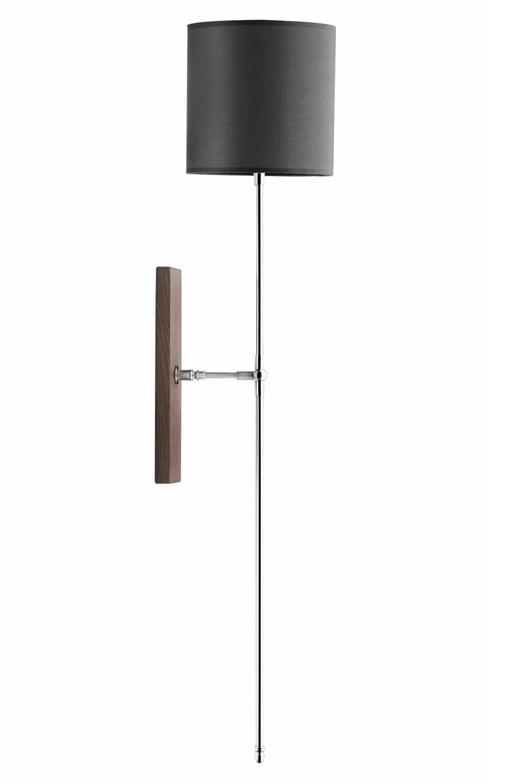 haute et fine applique en flambeau inox bross hind rabii luminaires fabriqu s en belgique. Black Bedroom Furniture Sets. Home Design Ideas