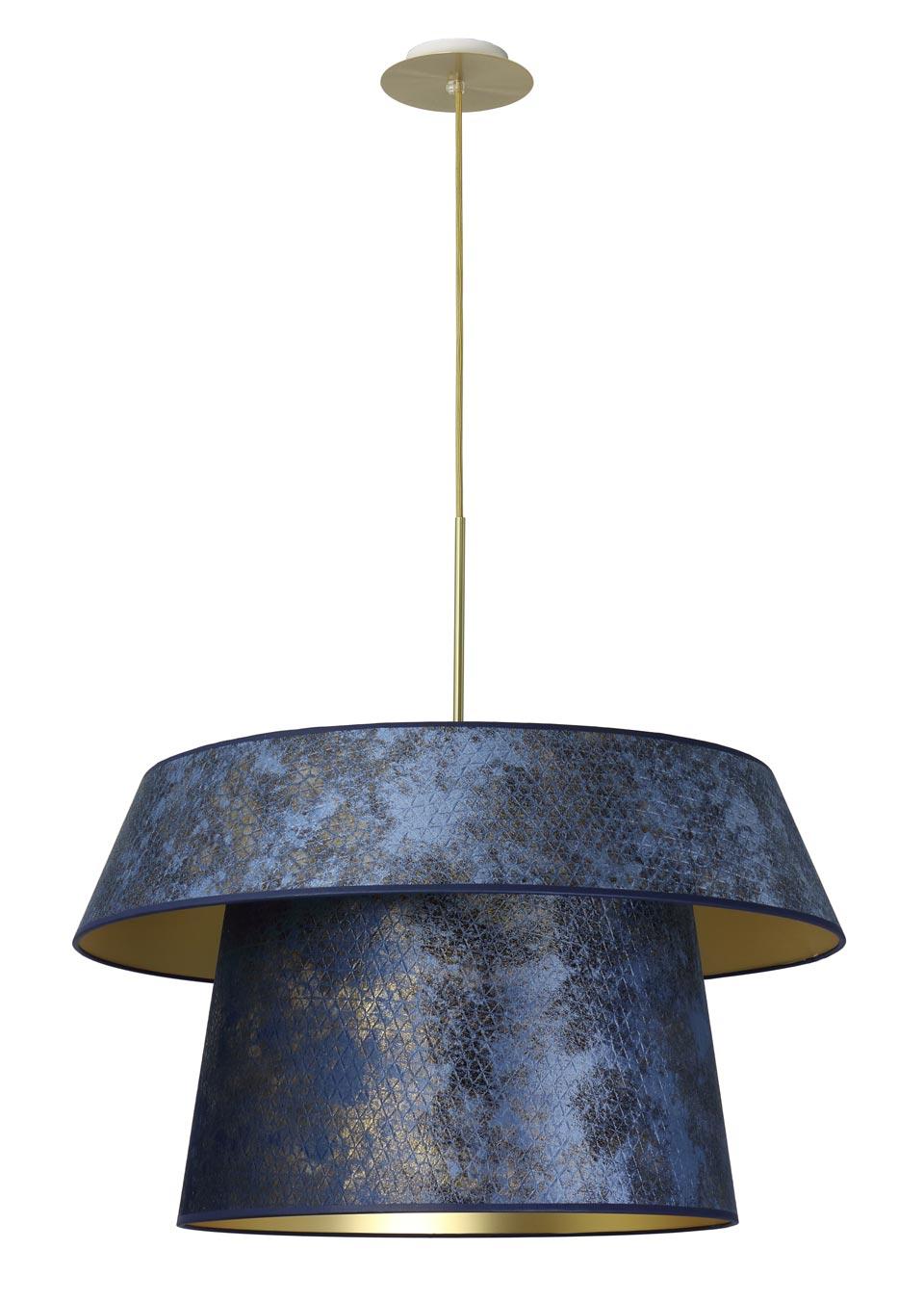 Diamètre HauteurIntérieur DoréSupport Plafond En Suspension Ajustable 70cm BoxdCe