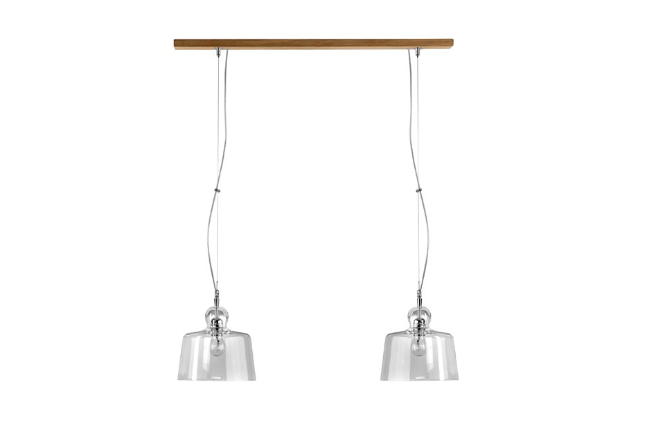 Suspension double 2 coupoles forme cloche . Hind Rabii.
