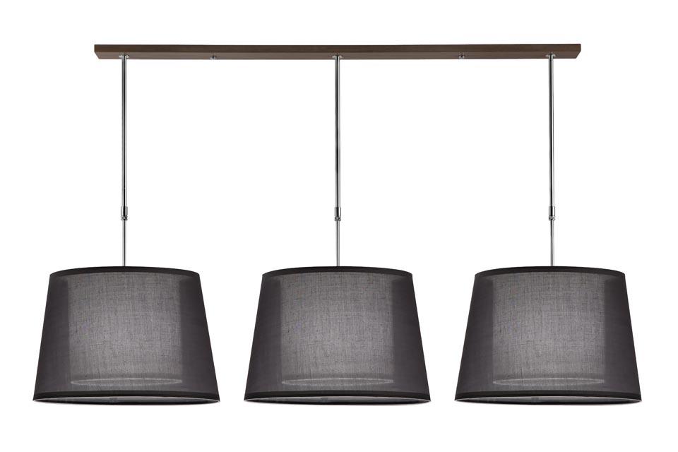 suspension illusion hind rabii en tissu chintz noir translucide hind rabii luminaires. Black Bedroom Furniture Sets. Home Design Ideas