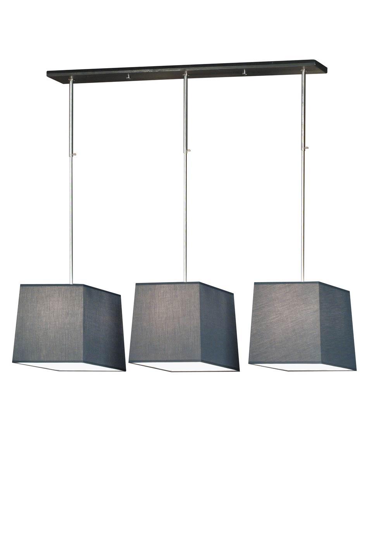 Suspension Hauteur Sous Plafond suspension ajustable en hauteur. inox brossé.