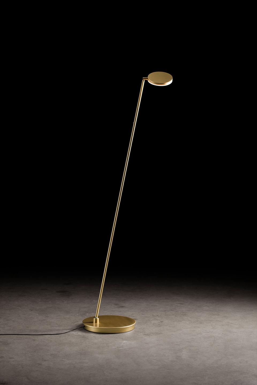 Plano liseuse design dorée, LED haute qualité. Holtkötter.