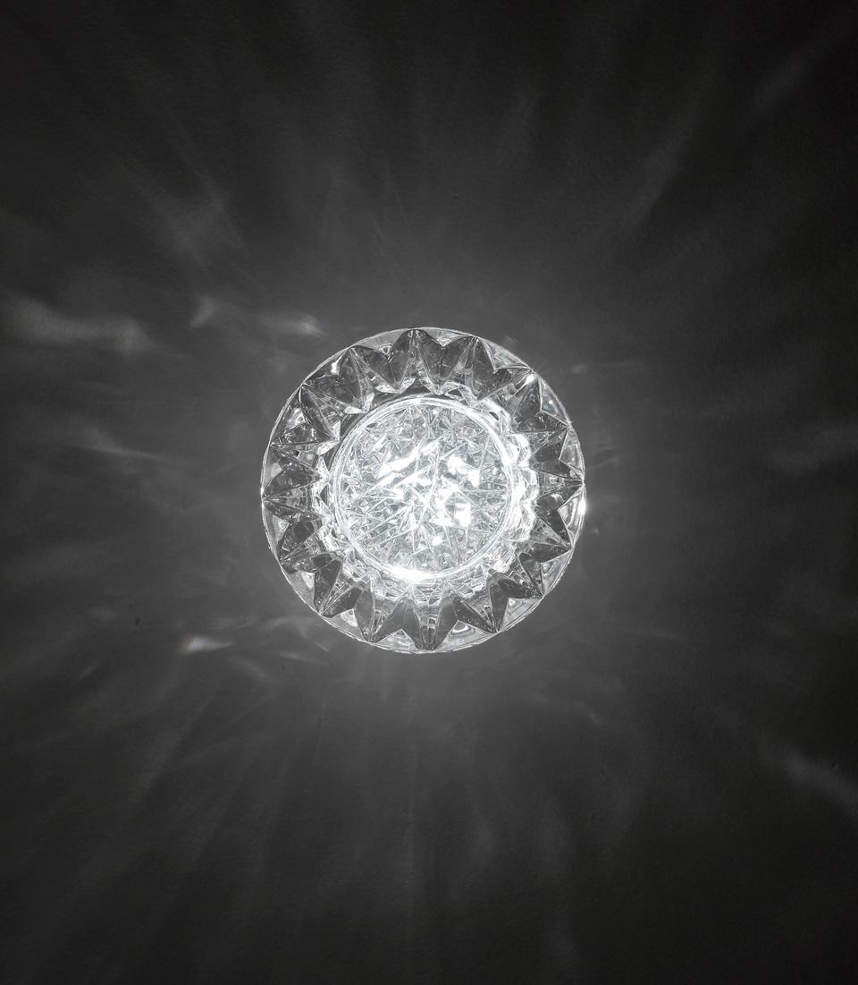 Applique en cristal taillé Diamante. Italamp.