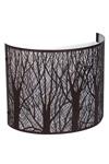 Applique bandeau Forêt métal noire. JP Ryckaert.