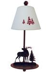 Lampe de chevet cerf style Montagne. JP Ryckaert.