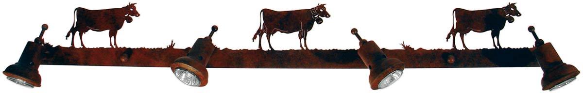 Montagne Dichroïque Applique vaches 4 lumières. JP Ryckaert.