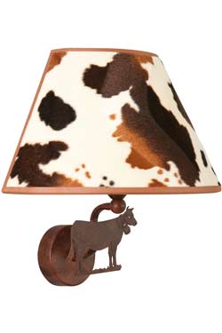 Peau de vache Applique motif vache tronquée. JP Ryckaert.