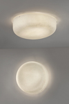 Ola white fiberglass wall light. Karboxx.