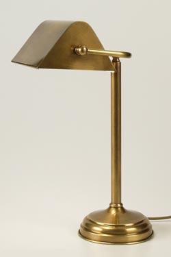 CM29 lampe de table laiton vieilli naturel. Latoaria.