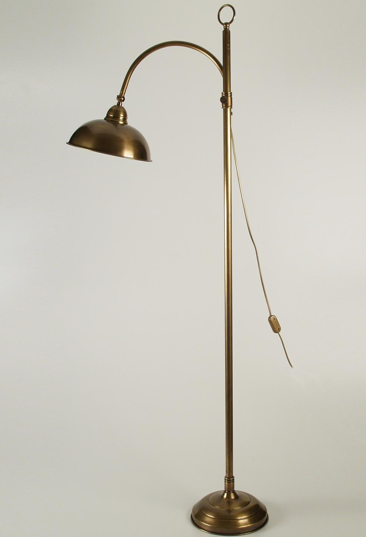 lampe sur pied laiton vintage. Black Bedroom Furniture Sets. Home Design Ideas