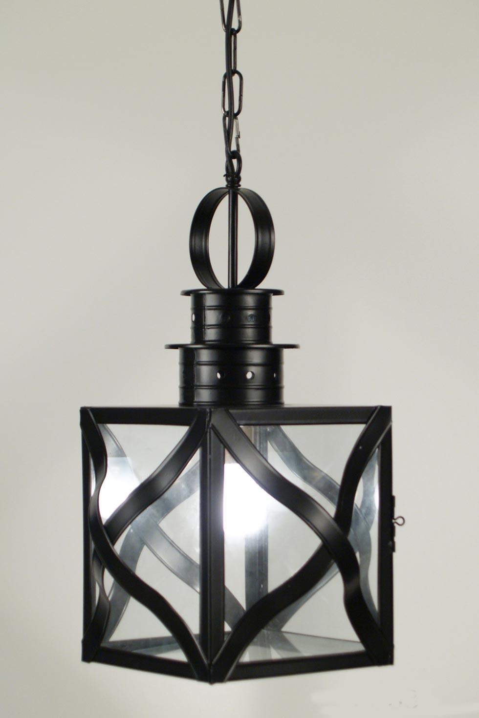 palheiro le33 n 1 lanterne suspendue laiton laqu noir latoaria laiton naturel suspension. Black Bedroom Furniture Sets. Home Design Ideas