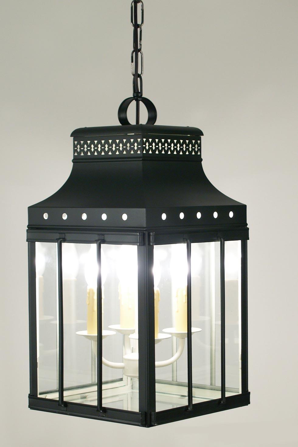 roma lanterne noire en laiton laqu latoaria laiton naturel suspension r f 11040003. Black Bedroom Furniture Sets. Home Design Ideas