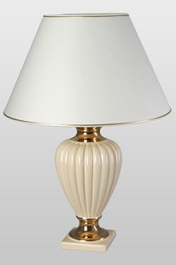 Adriana CH lampe crème. Le Dauphin.