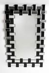 Belluno miroir rectangulaire miroir et miroir noir. Le Dauphin.