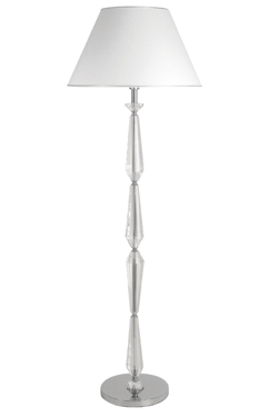 Hermine B optical glass floor lamp. Le Dauphin.