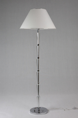 Reading lamp in chromed metal and optical glass HAUTEVILLE. Le Dauphin.