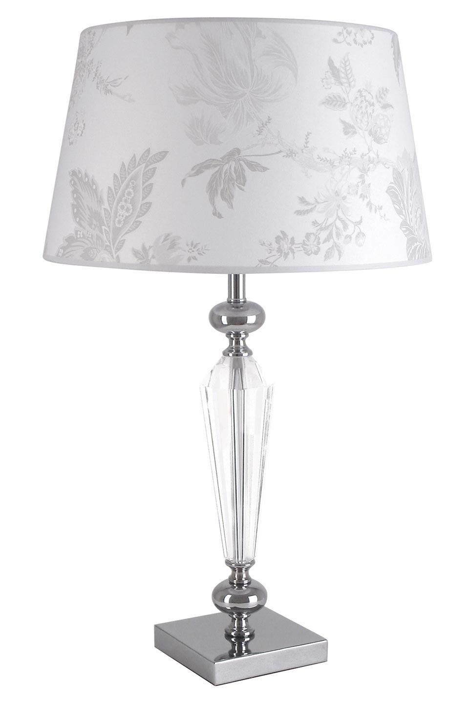Lampe blanche en verre optique Horia AZ  . Le Dauphin.