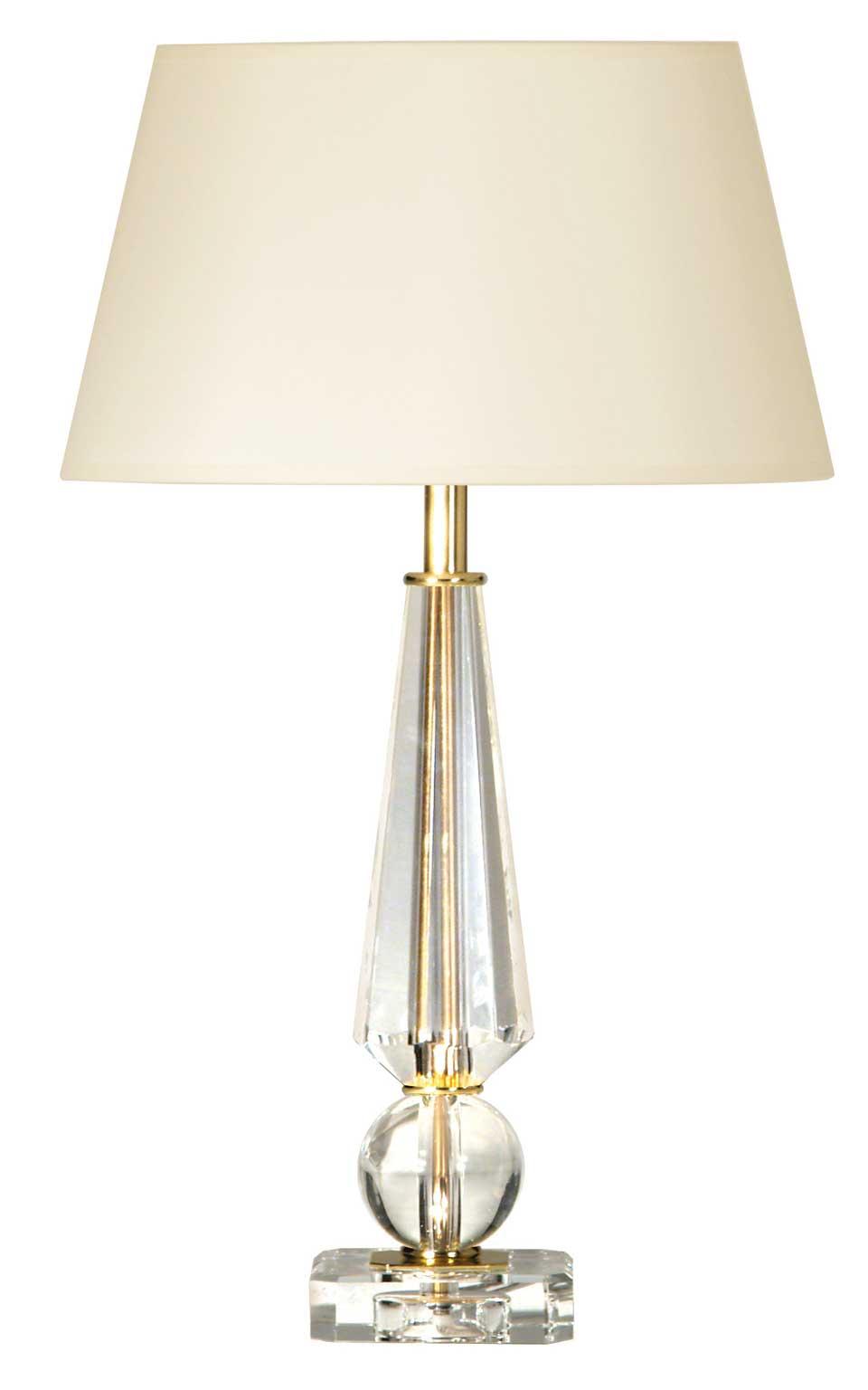 lampe boule et diamant verre optique et m tal dor coty r f 12110303. Black Bedroom Furniture Sets. Home Design Ideas