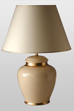 Leode Champagne lampe de table. Le Dauphin.