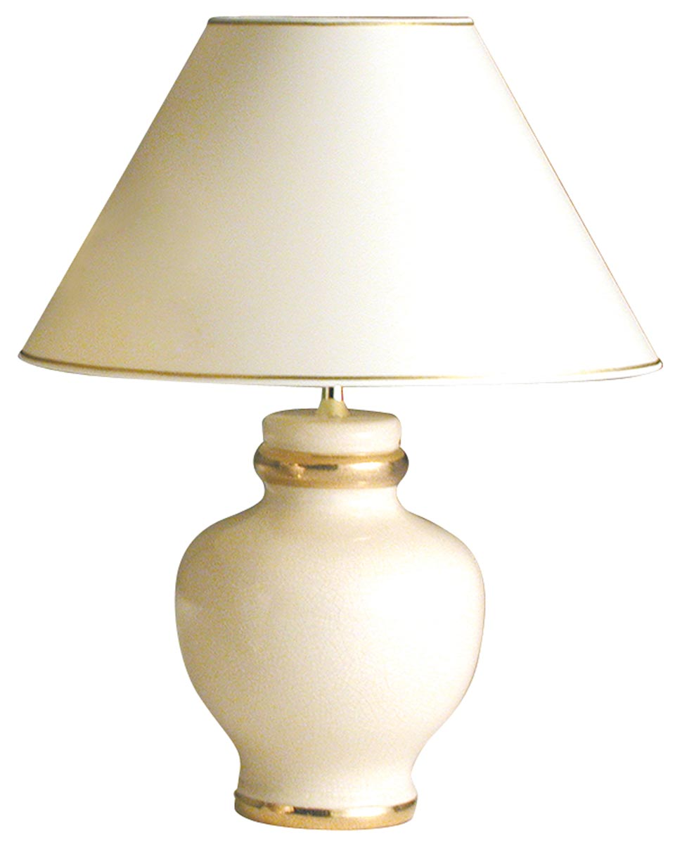 Ceramic table lamp Poma . Le Dauphin.