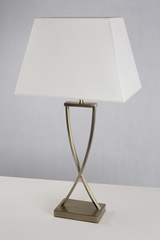 Hester bronze finish table lamp. Le Dauphin.