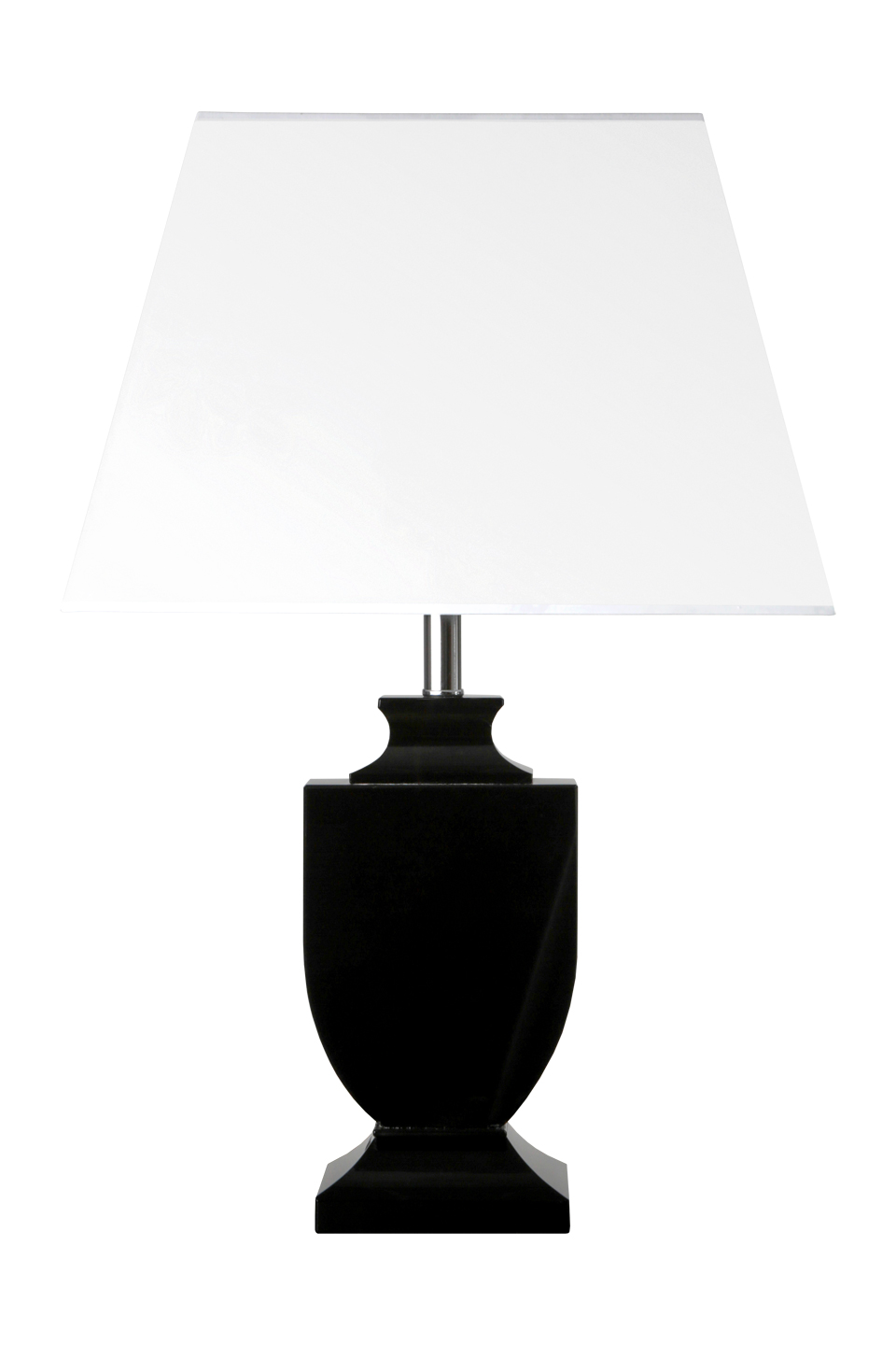 Picture of: Hymont Black Optical Glass Table Lamp Le Dauphin Classical Lamp In Ceramic French Style Made In France Ref 18110122