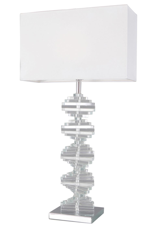 Large optical glass table lamp artica le dauphin classical lamp in large optical glass table lamp artica le dauphin aloadofball Gallery