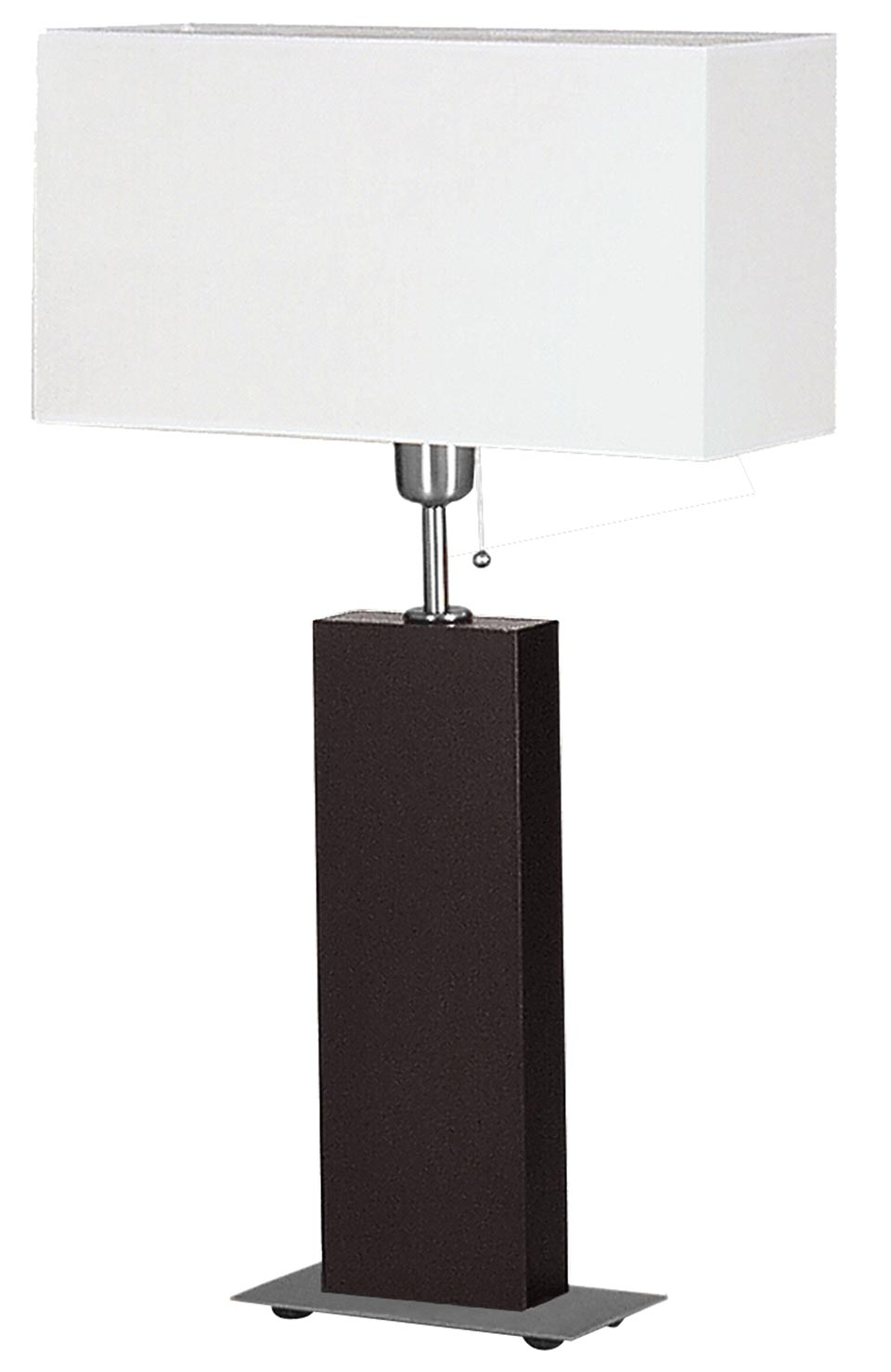 Mara black table lamp. Le Dauphin.
