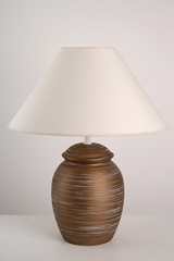 Orna MR ceramic table lamp medium model. Le Dauphin.