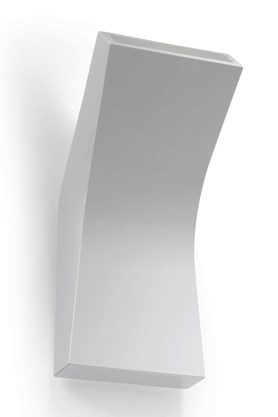 Bend applique LED blanche design incurvé. Leds C4.