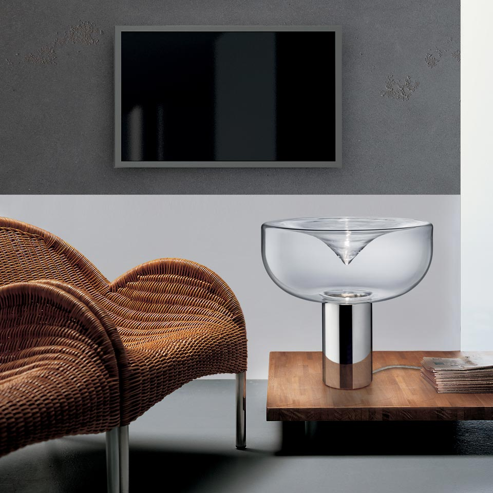 grande lampe aella en verre design futuriste r f 16090100. Black Bedroom Furniture Sets. Home Design Ideas