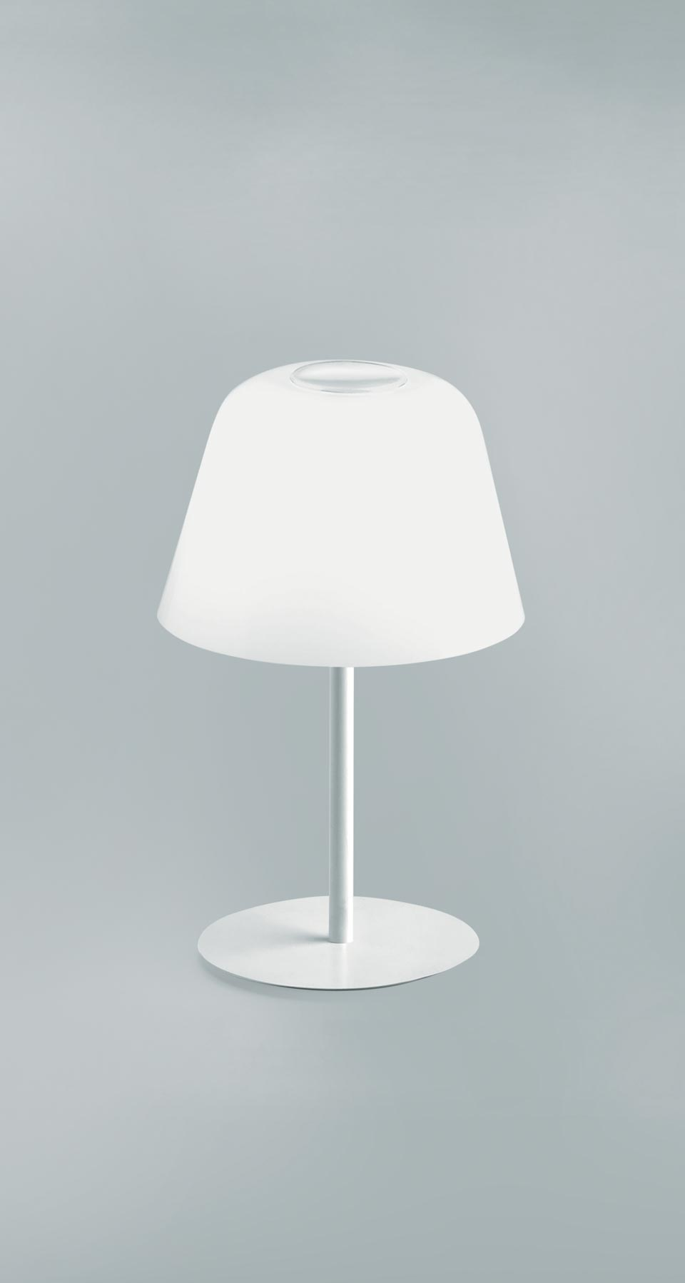 lampe ayers blanche petit mod le en verre souffl r f 16100127. Black Bedroom Furniture Sets. Home Design Ideas