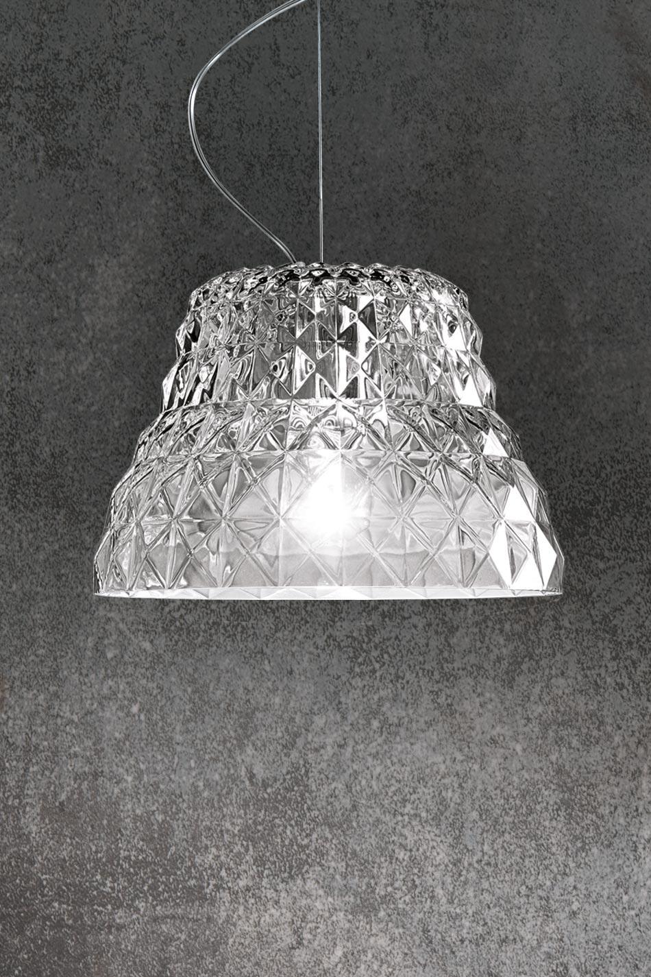 Suspension en cristal taill atelier r f 13080014 - Suspension en cristal ...
