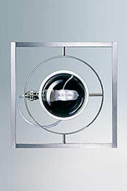 Ocular 1 suspension en acier noir mat. Licht Im Raum.
