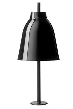 Caravaggio lampe noire à encastrer. Light Years.