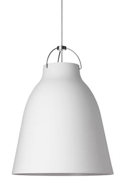 Caravaggio Matt suspension GM blanc mat. Light Years.