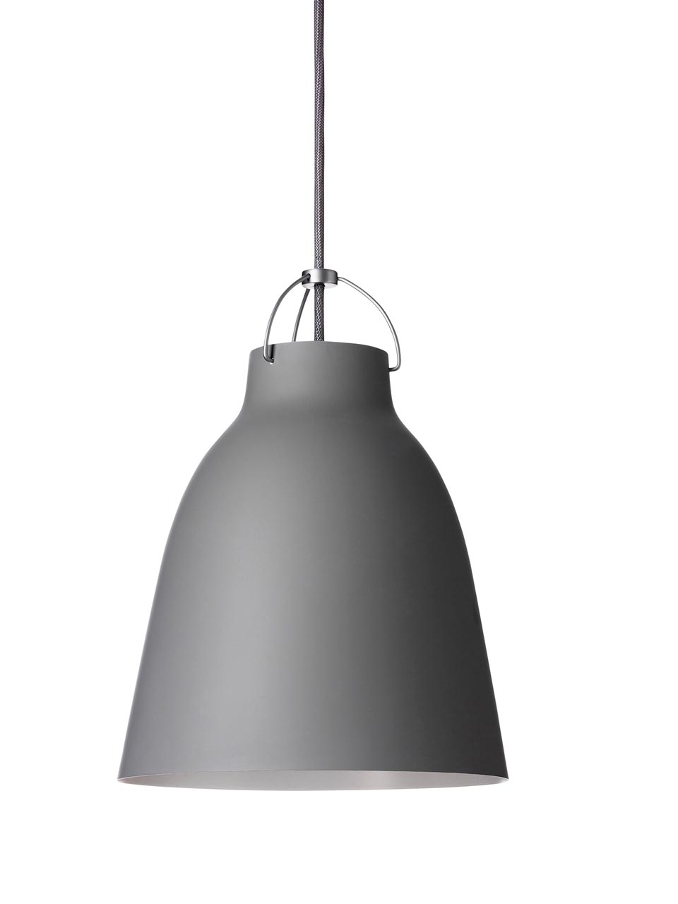 Caravaggio Matt suspension MM gris 45-foncé- mat. Light Years.