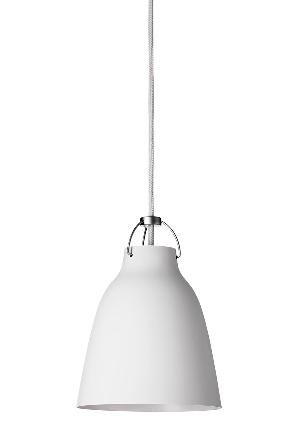Caravaggio Matt suspension PM blanc mat. Light Years.