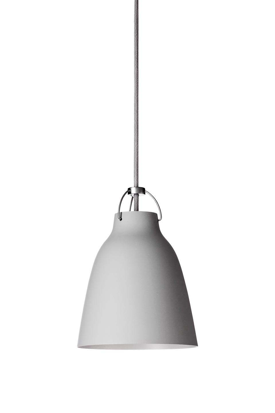 Caravaggio Matt suspension PM gris 25-clair- mat. Light Years.