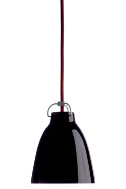 Caravaggio suspension TPM noire. Light Years.