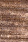 Tapis laine et chanvre dégradé beige et fauve - 140x200cm. Ligne Pure.