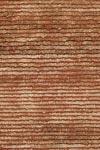 Tapis laine et chanvre miel et marron - 140x200cm. Ligne Pure.