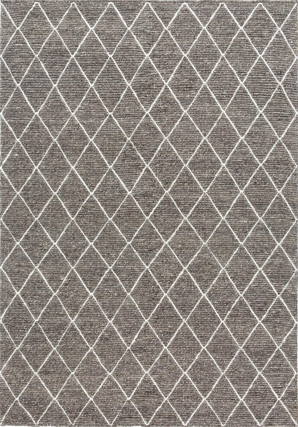 tapis gris 60 laine et 40 viscose