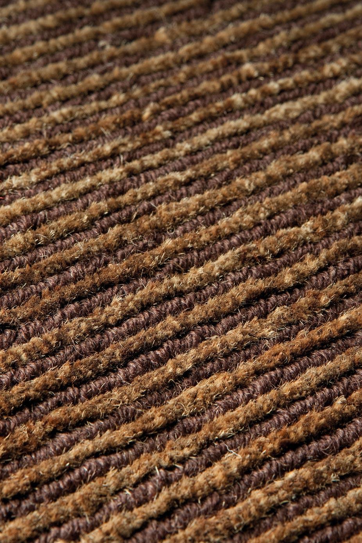 Tapis laine et chanvre d grad beige et fauve ligne pure tapis contemporains fabriqu s la Beaux tapis contemporains