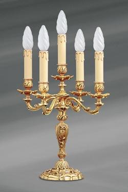 Chandelier doré Louis XV . Lucien Gau.