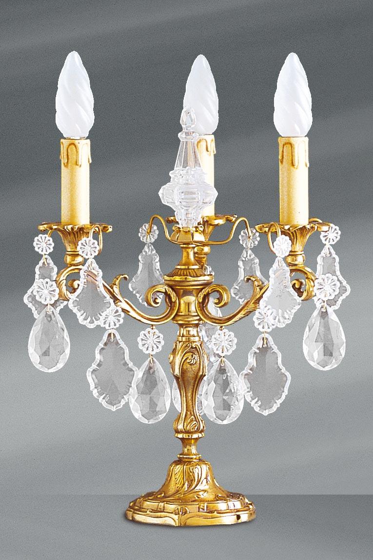 Lampe chandelier Louis XV cristal de bohème à cinq lumières. Lucien Gau.