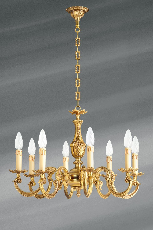 Lampadaire en bronze louis xv
