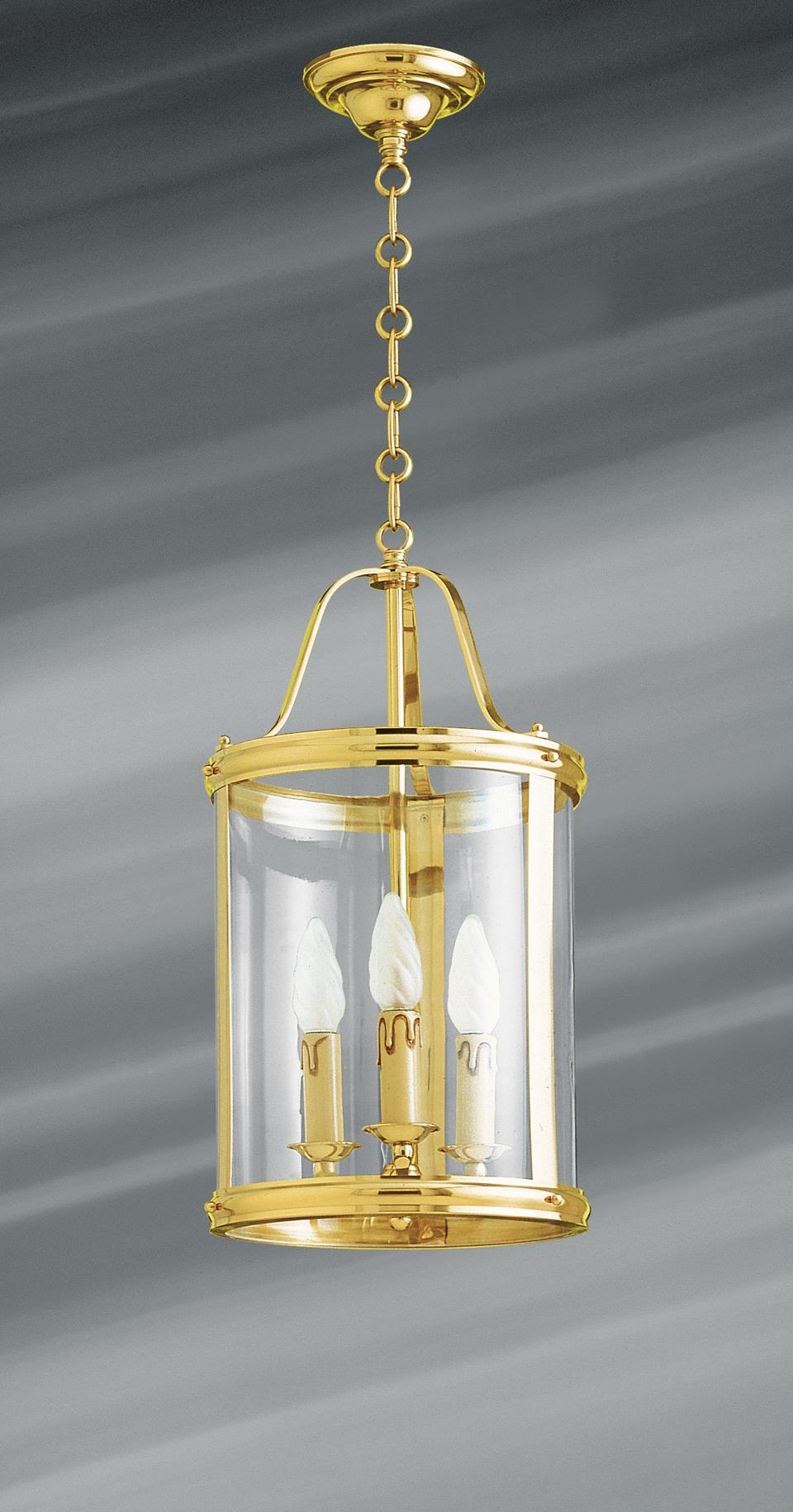 petite lanterne de style classique en bronze massif trois. Black Bedroom Furniture Sets. Home Design Ideas