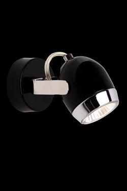 Boogie mini applique W1 noire. Luz Difusion.