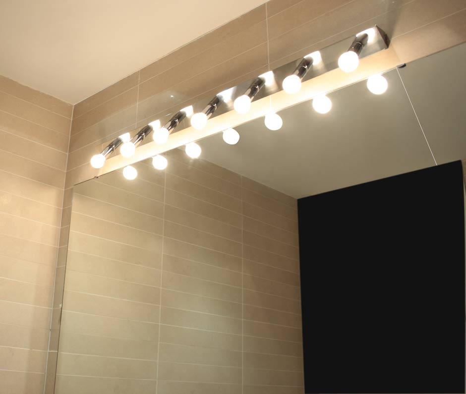 Rampe lumineuse salle de bain clairage de la cuisine - Rampe lumineuse led cuisine ...